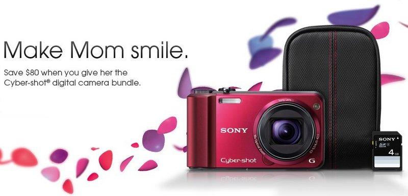 sony cybershot camera bundle