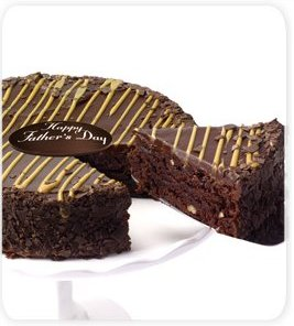 Caramel Pecan Fudge Cake