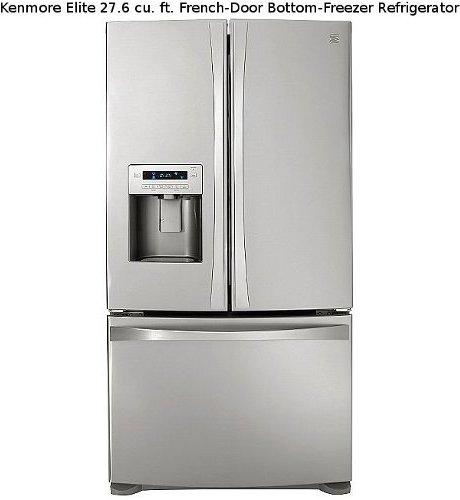 Kenmore Elite French-Door Bottom-Freezer Refrigerator