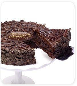 Mochaccino Brownie Cake