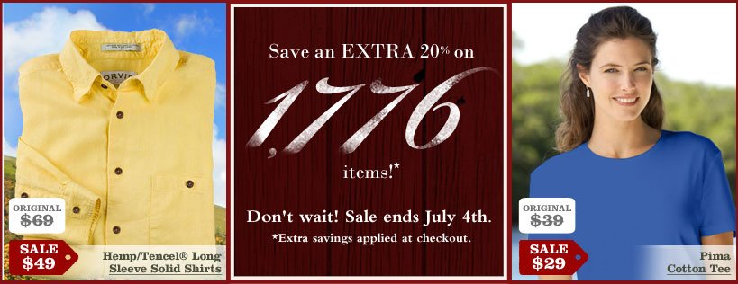 Orvis july 4th sale