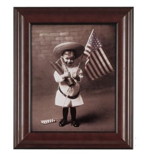 Patriotic Boy Classic Art Reproduction
