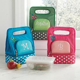 Polka Dot Lunch Bags