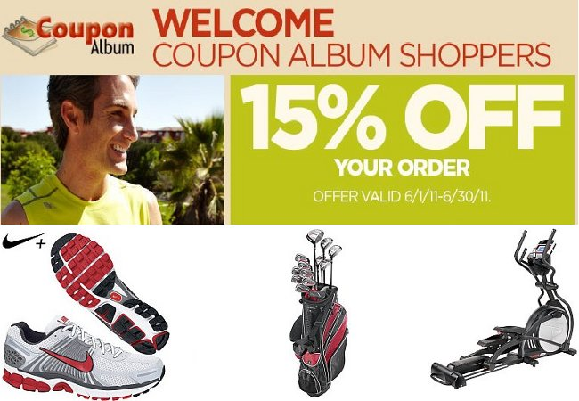 Sports Authority CouponAlbum Exclusive