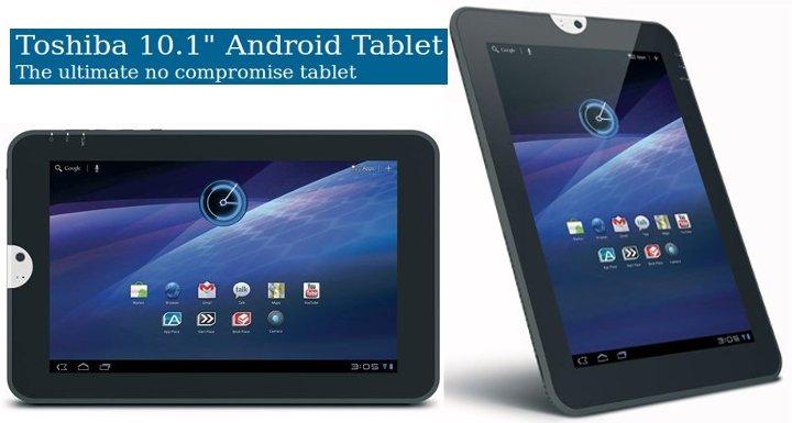 Toshiba Thrive Tablet