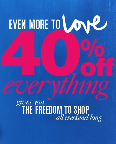 ann taylor loft july 4th sale