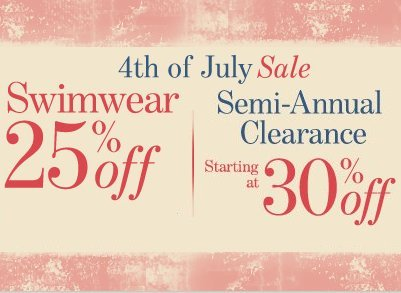 bare necessities 4th of july sale