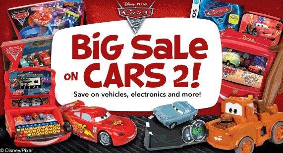 cars 2 toys