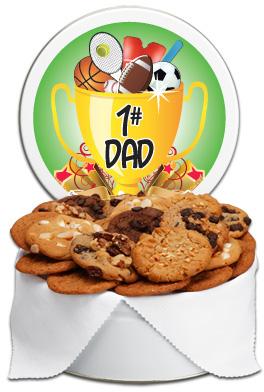 #1 Dad Gift Tin