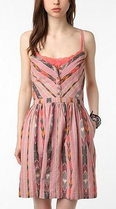 ecote ikat dress