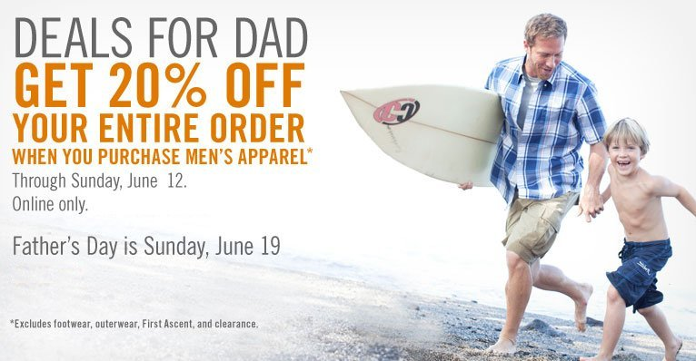 eddie bauer deals for dad