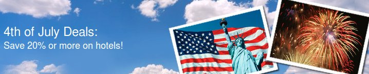 expedia 4th of july deals