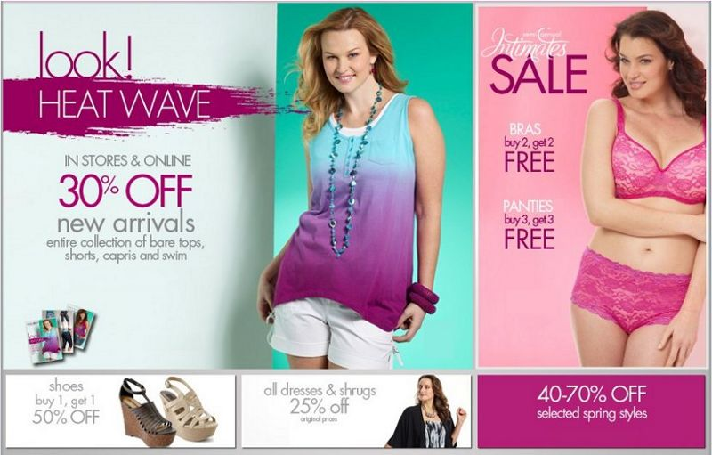 fashion bug plus size clothing