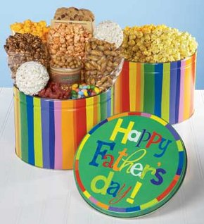 Father's Day Popcorn and Snacks