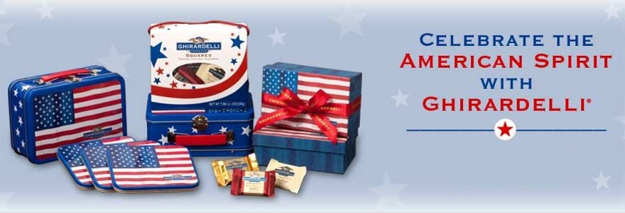ghirardelli chocolate 4th of july gifts
