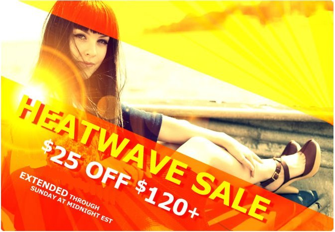 heels.com heatwave sale