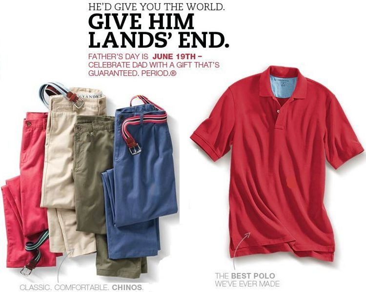 lands end dads gifts