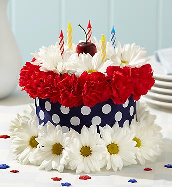 liberty dreams flower cake