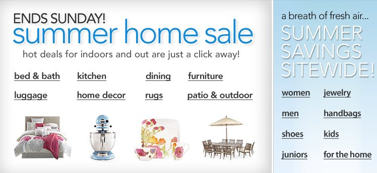 macys summer home sale