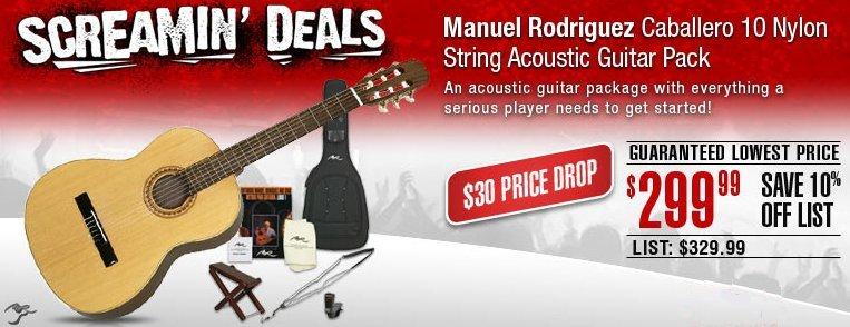 manuel todriguez guitar pack