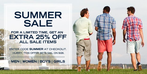nautica summer sale