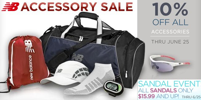 new balance accessory sale
