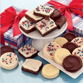 Patriotic Cookie And Brownie Box