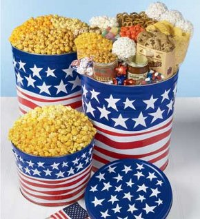 patriotic popcorn treat