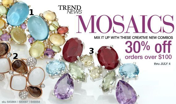 ross simons mosaic jewelry
