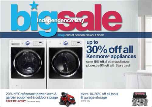 sears big sale