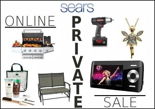 sears private sale