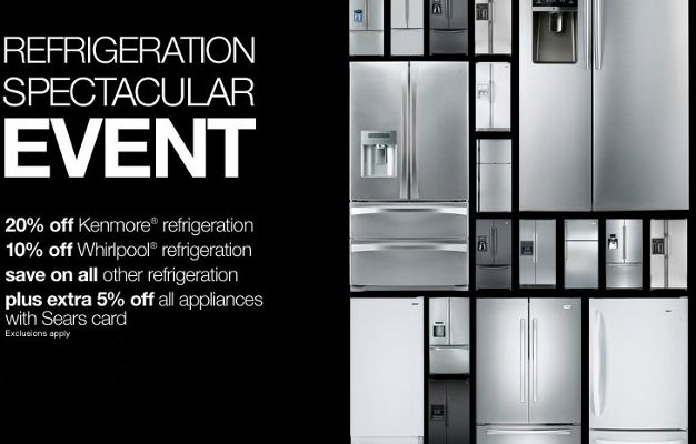 sears refrigeration spectacular event