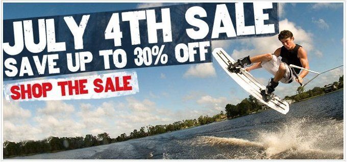 sun & ski sports independence day sale