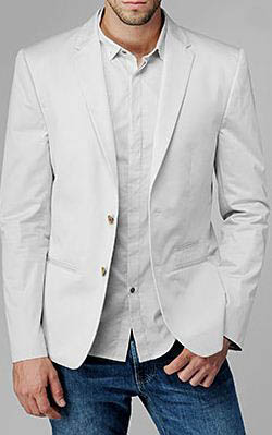 7 for all mankind tailor notch blazer