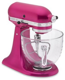 KitchenAid Artisan Susan G. Komen Stand Mixer, Raspberry Ice