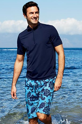 Lands End men swimwear