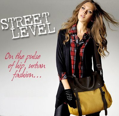 Mustard Street Level 2 Tone Messenger Crossbody Handbag