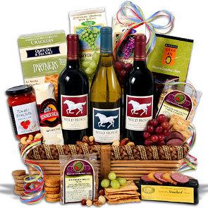 Wild-Horse-Trio-Wine-Gift-Basket