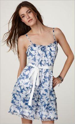 ae chiffon dress