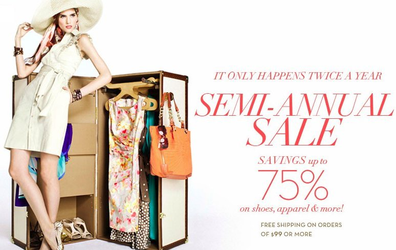 anne klein semi annual sale