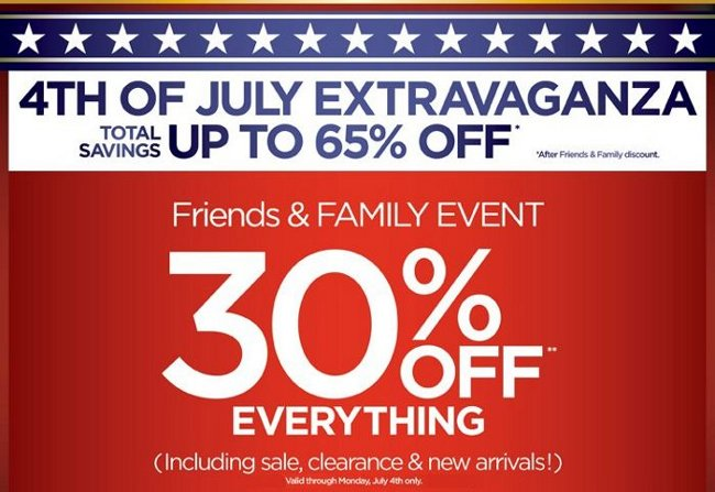 avenue friends and family sale