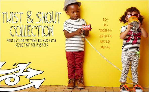 baby gap twist and shout collection
