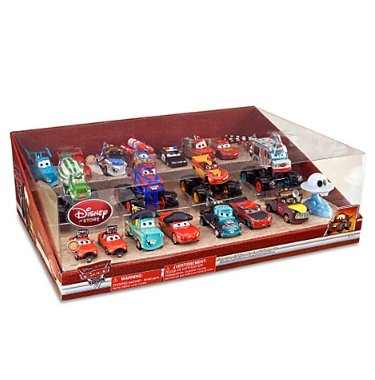 cars toon die cast collector set