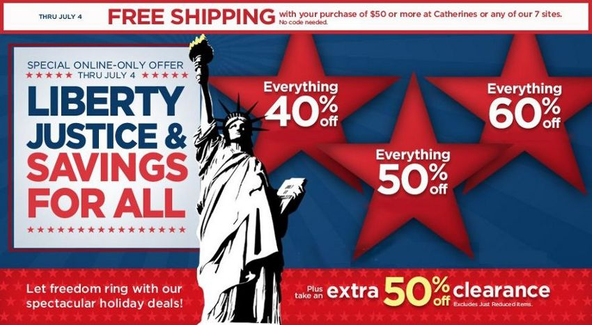 catherines july 4th offers
