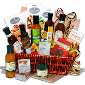 charcoal connoisseur cooking gift basket