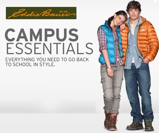 eddie bauer campus essentials