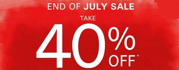 esprit end of july sale