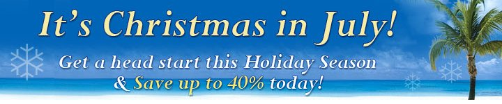firststreet christmas in july sale