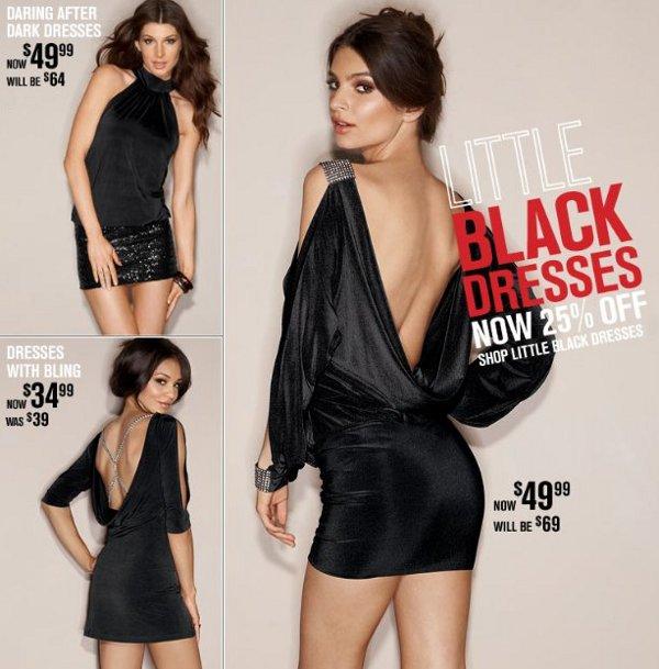 frederick's little black dresses