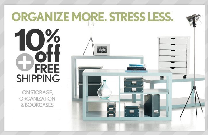 10% Off + Free Shipping on Storage & Organization at Home ...